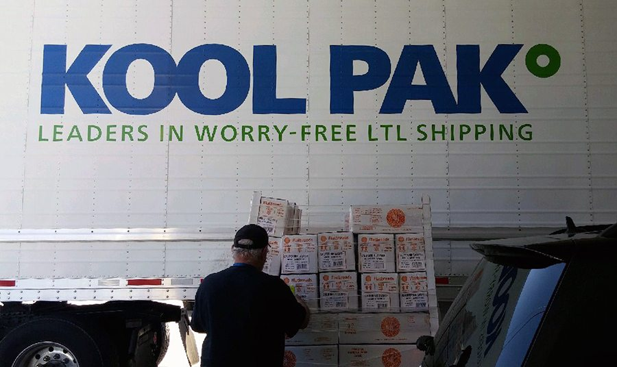 KOOL PAK Relief Package to Houston