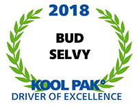 Driver of Excellence - Bud Selvy