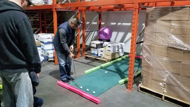 safety golf