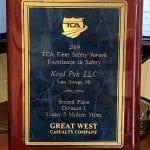 kool pak TCA plaque